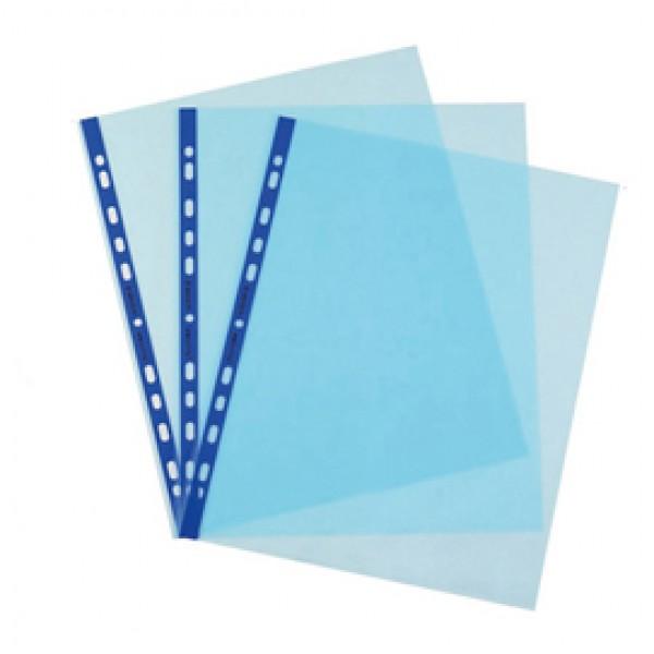 Buste forate Favorit Art - Superior - liscio - 22x30 cm - azzurro - Favorit - conf. 25 pezzi