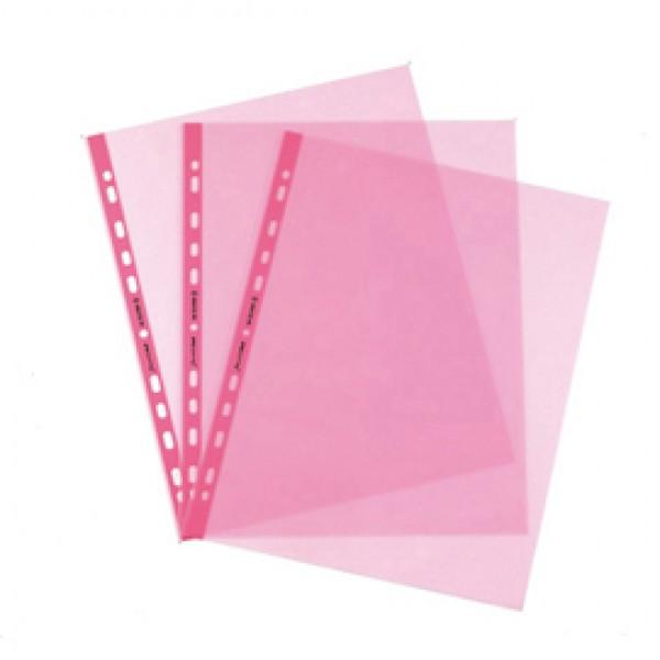 Buste forate Favorit Art - Superior - liscio - 22x30 cm - rosa - Favorit - conf. 25 pezzi