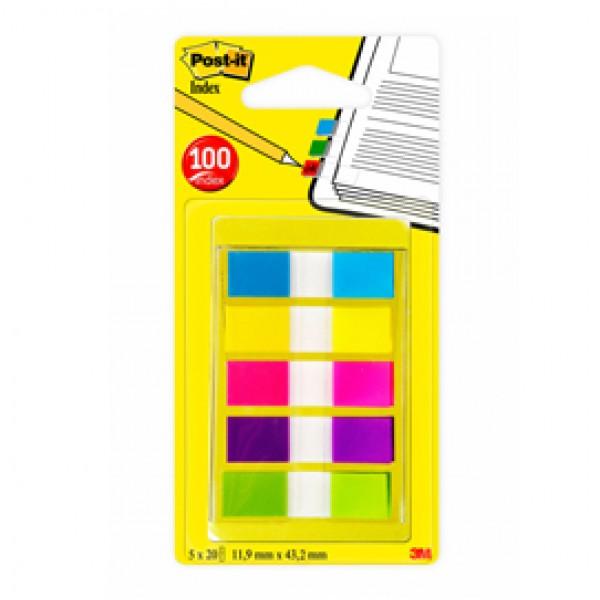 Miniset 100 Post-It Index 683-5cbeu Formato Mini - 90842