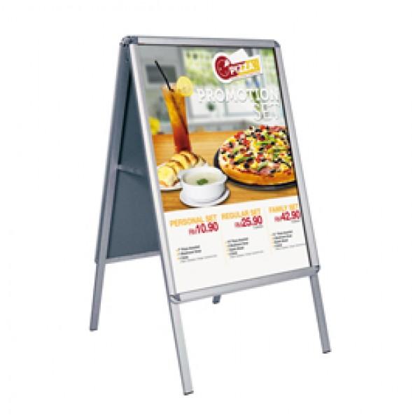 Cavalletto bifacciale - cornici a scatto - 50x70 cm - Studio T