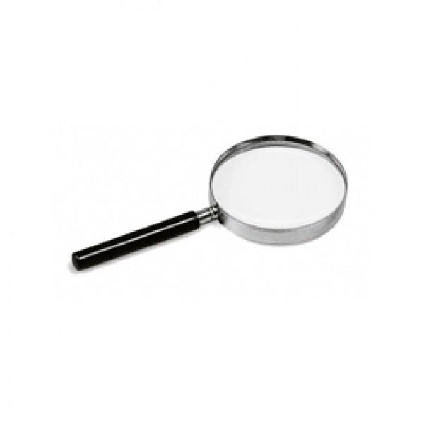 Lente di ingrandimento 1124 - diametro 9 cm - nero - Lebez