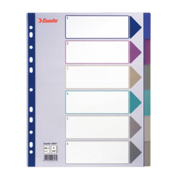 Intercalari PPL Multicolor translucent Esselte - 6 - 20647