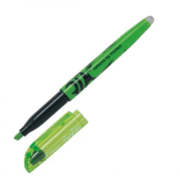 Evidenziatore cancellabile Frixion Light - punta a scalpello 4,0mm - tratto 3,3mm - verde - Pilot