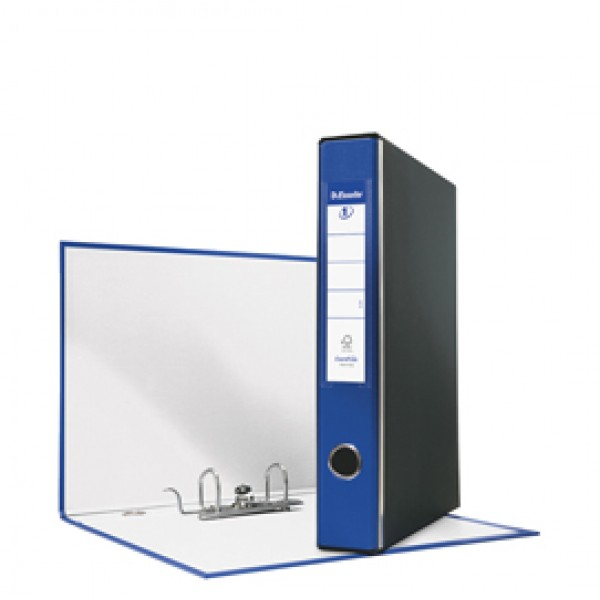 Registratore Eurofile G52 - dorso 5 cm - commerciale 23x30 cm - blu - Esselte