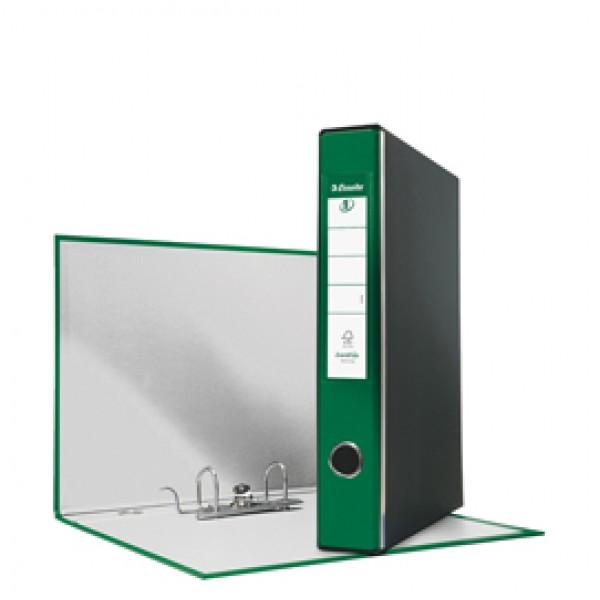 Registratore Eurofile G52 - dorso 5 cm - commerciale 23x30 cm - verde - Esselte