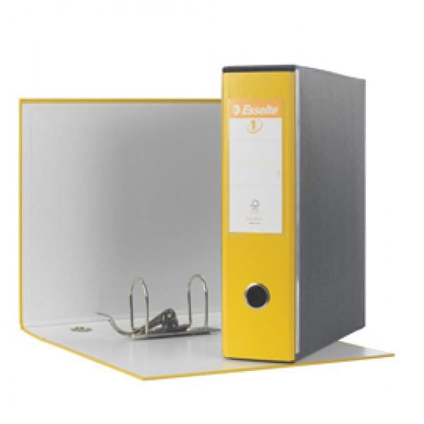 Registratore Eurofile G53 - dorso 8 cm - commerciale 23x30 cm - giallo - Esselte