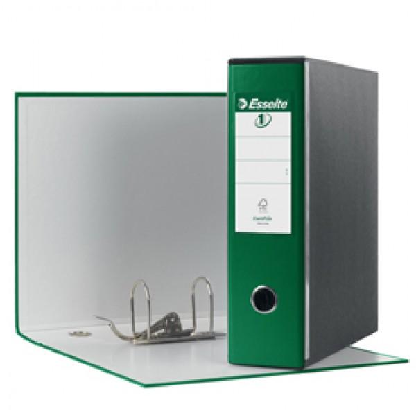 Registratore Eurofile G53 - dorso 8 cm - commerciale 23x30 cm - verde - Esselte