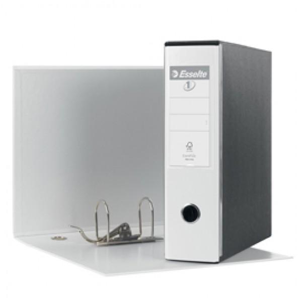 Registratore Eurofile G53 - dorso 8 cm - commerciale 23x30 cm - bianco - Esselte