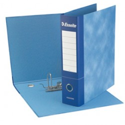 Raccoglitore Essential Esselte - meccanismo a leva - 8 cm - Commerciale - blu - 2 - meccanismo a leva - 390773050