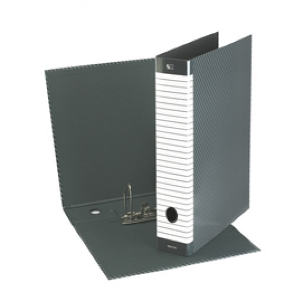 Registratore Delso Line G12 - dorso 5 cm - commerciale 23x30 cm - grigio - Esselte