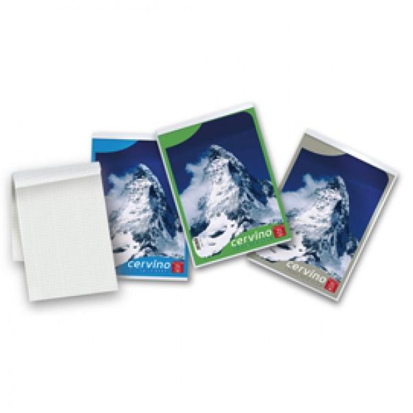 Blocco Cervino - 5mm - A5 - 150 x 210mm - 50gr - 50 fogli - Pigna