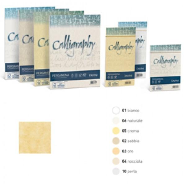 Carta pergamena Calligraphy Liscio Favini crema fogli A4 - 90 gr. A692204 (conf.50)