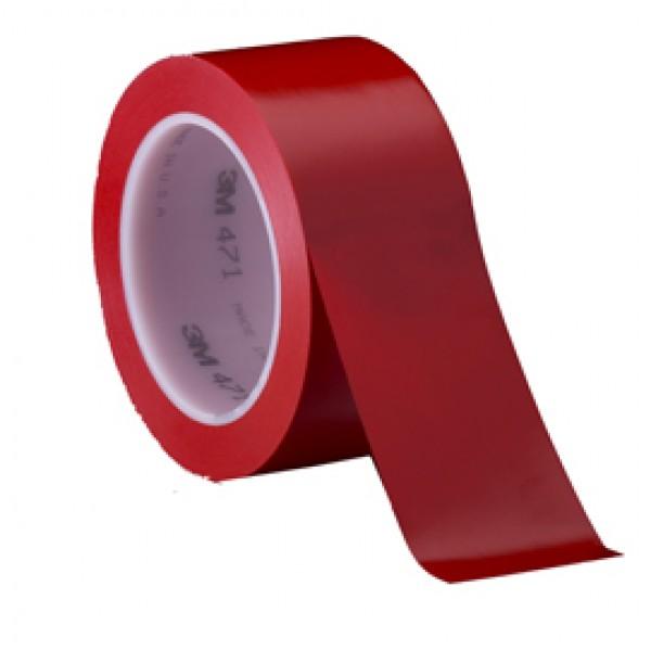 Nastro segnalatore adesivo Scotch® - 50 mm x 33 mt - rosso