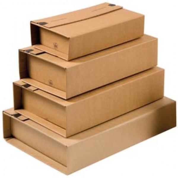 Scatola postale CP 020 - fustellata - formato A5+ (251x165x60 mm) - ColomPac®