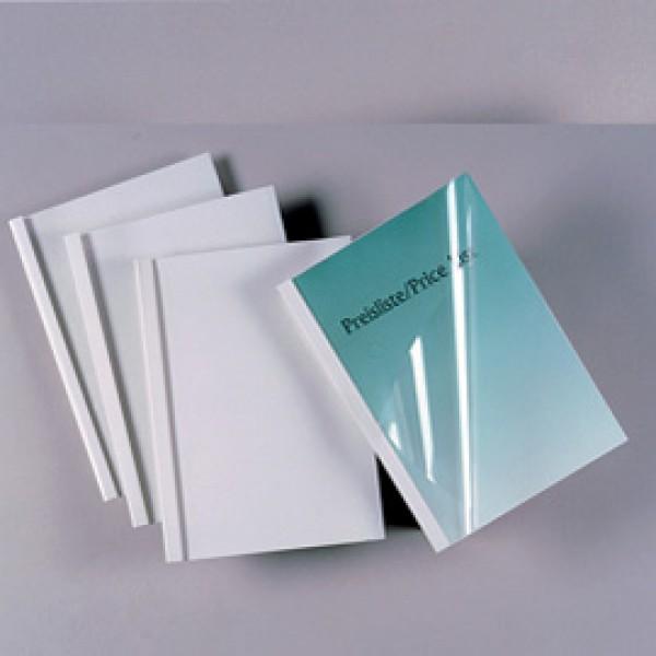 Cartelline termiche Standard - A4 - 150 micron - 50 mm - bianco - GBC - scatola 50 pezzi