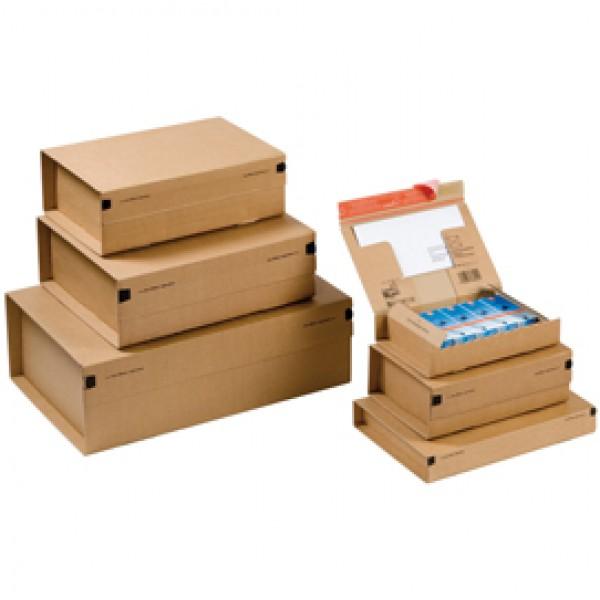Scatola CP 067 per spedizioni - color avana - formato A4+ (330x290x120 mm) - ColomPac®