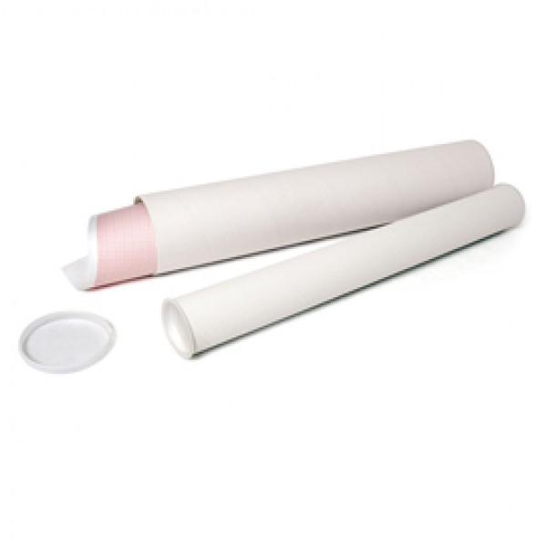 Tubo portadisegni in cartone - altezza 54 cm - diametro 6 cm - IKona+