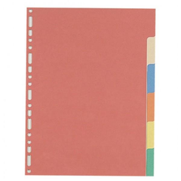 Divisori neutro cartoncino Elba- 6 tacche - 100204883