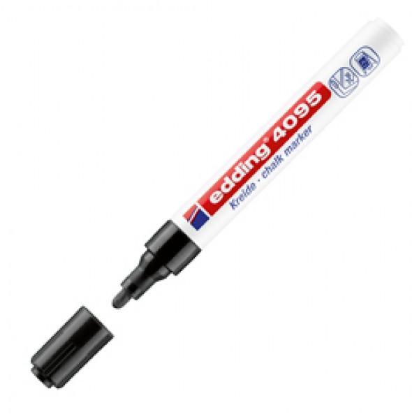 Marcatore Edding 4095  - punta tonda da 2,00-3,00mm - nero - Edding