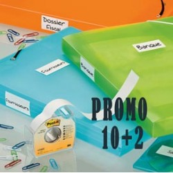 PROMO PACK 10+2 POST-IT COVER-UP 658-H 25MMX17,7M - 23077