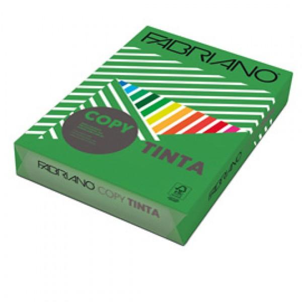 CARTA FABRIANO COPY TINTA A4 80 Gr. 500 fogli COL.FORTI VERDE