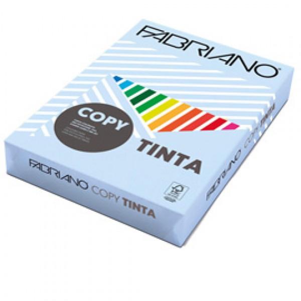 CARTA FABRIANO COPY TINTA A4 80 Gr. 500 fogli COL.TENUE CELESTE