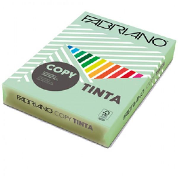 CARTA FABRIANO COPY TINTA A4 80 Gr. 500 fogli COL.TENUE VERDE CHIARO