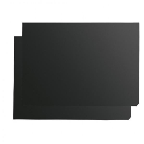 Inserto nero per cavalletto A Frame - scrivibile - A1 - Nobo - conf. 2 pezzi