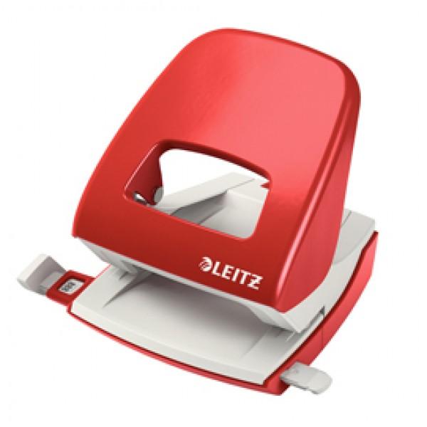 Perforatore 2 fori 5008 rosso max 30fg LEITZ - 50080025
