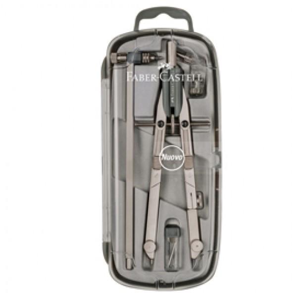 Balaustrone Tech - a pressione - con aste snodabili - diametro max cerchio 570mm - Faber Castell