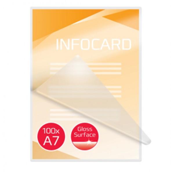 Pouches per plastificazione - A7 - 80x111 mm - 2x125 micron - GBC - scatola 100 pezzi