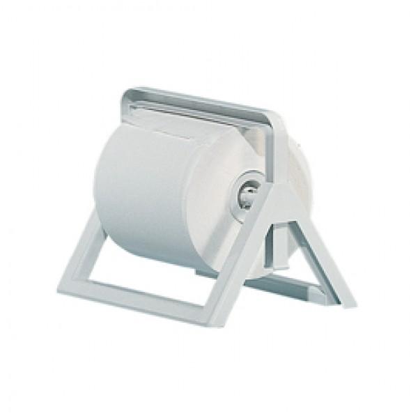Dispenser murale/da banco per bobine di carta - ABS - 25x30,5x44 cm - bianco - Mar Plast