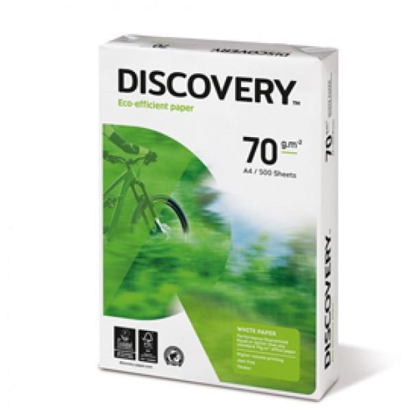 Carta Discovery 70 - A4 - 70 gr - bianco - conf. 500 fogli