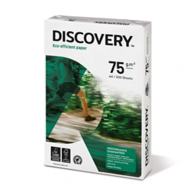 Carta A4 Discovery 75 - 75 gr/mq - 788603 minipallet da 50 risme