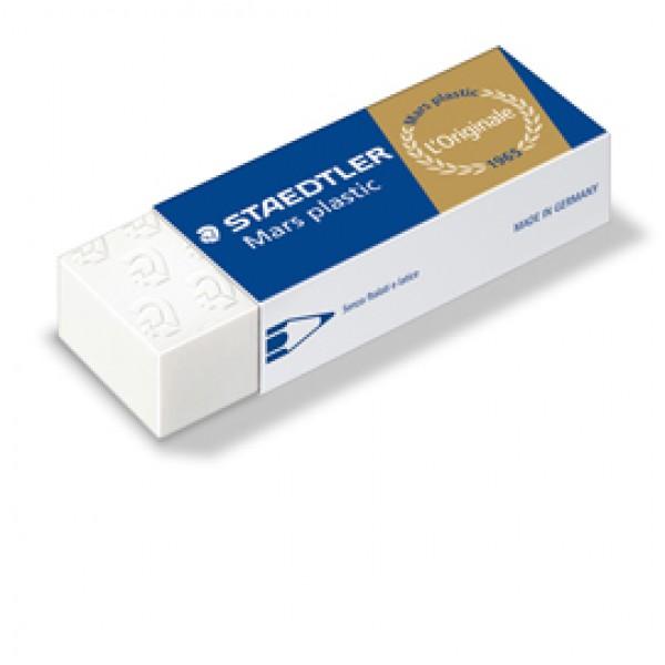 Gomma Mars Plastic - 65x23x13mm - bianca - Staedtler