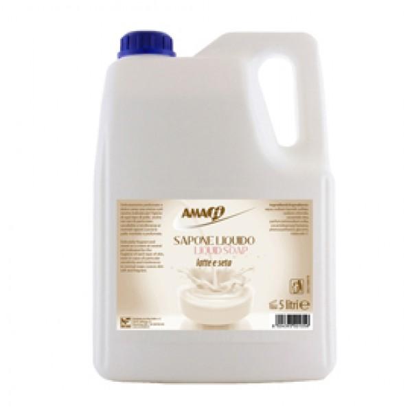 Detergente liquido - latte - Amati - tanica da 5 L