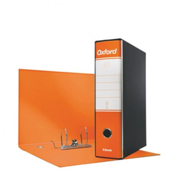 Registratore Oxford G85 - dorso 8 cm - protocollo 23x33 cm - arancione - Esselte