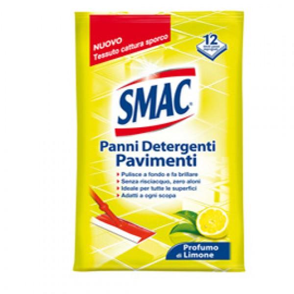 Panni Smac System pavimenti e multiuso - limone - Smac - conf. 12 pezzi