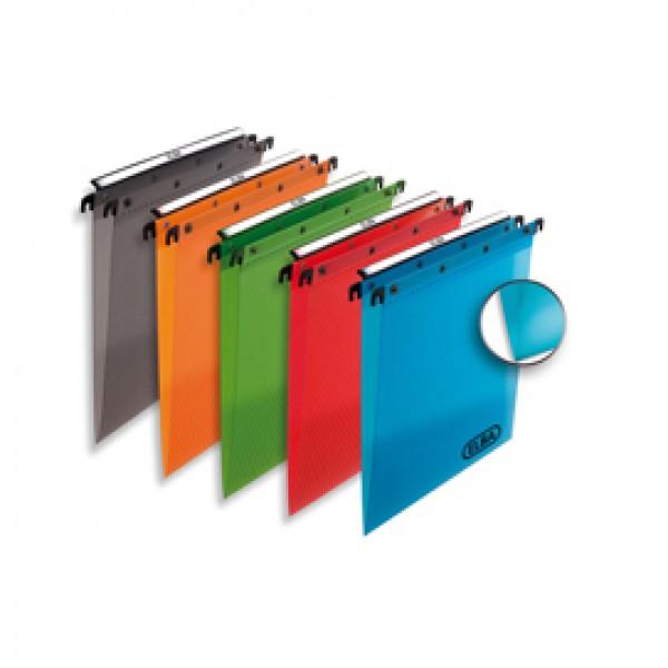 Cartella sospesa - PPL - cassetto - interasse 33 cm - fondo V - 31,6x25 cm - colori assortiti - Favorit
