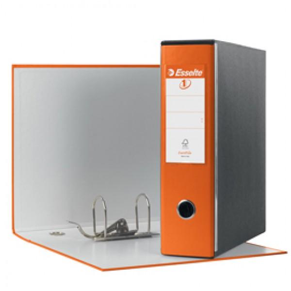 Registratore Eurofile G53 - dorso 8 cm - commerciale 23x30 cm - arancione - Esselte