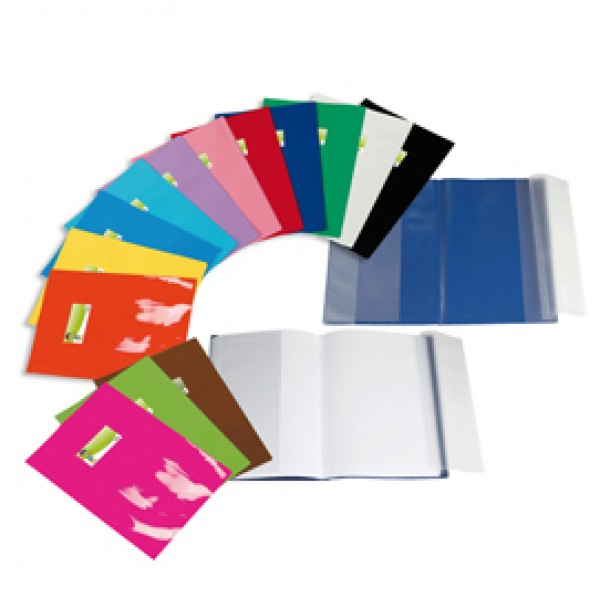 Coprimaxi LF - A4 - PVC -  laccato - cover - blu - Sei Rota