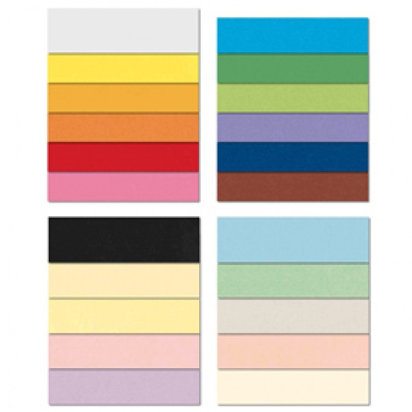 Conf.10 cartoncino Bristol Color 200gr 100x70cm scarlatto 61 Favini - A35C0A1