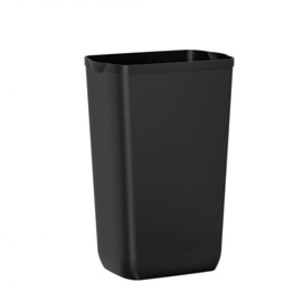 Cestino gettacarte Soft Touch - 33x22x49 cm - 23 L - nero - Mar Plast