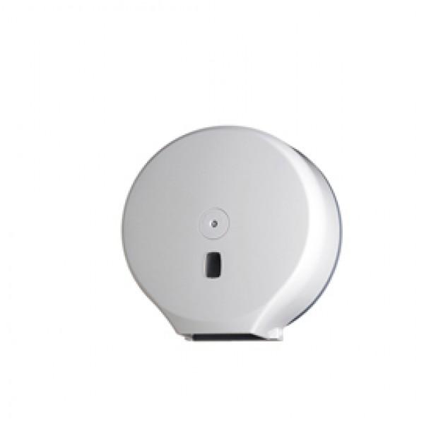Distributore Basica per carta igienica in rotoli Maxi Jumbo - 34,7x13,7x35,5 cm - bianco - Medial International