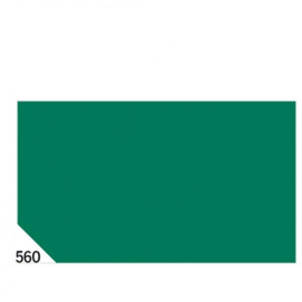Carta velina -  50x70cm - 31gr - verde 560 - Rex Sadoch - busta 26 fogli