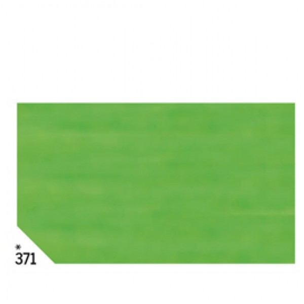 Carta velina -  50x70cm - 31gr - verde chiaro 371 - Rex Sadoch - busta 26 fogli