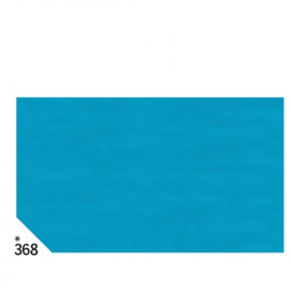 Carta velina -  50x70cm - 31gr - azzurro 368 - Rex Sadoch - busta 26 fogli