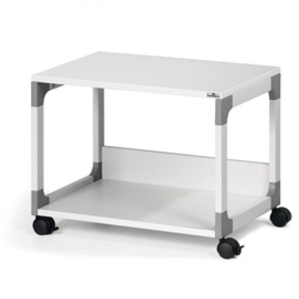 Mobile/carrello Multifunzione System 48 - 60x43,2x47,7 cm - 2 ripiani - con ruote - grigio - Durable