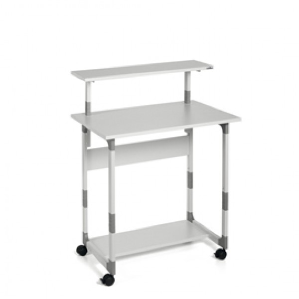 PC WORKSTATION SYSTEM 80 VH GRIGIO - 3718-10