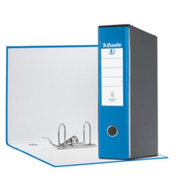 Registratore Eurofile G55 - dorso 8 cm - protocollo 23x33 cm - blu vivida - Esselte